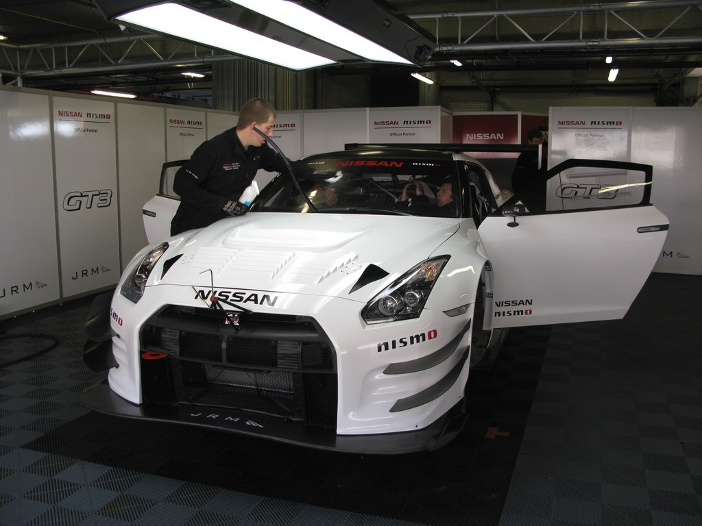 Successful first test with Nissan GTR NISMO GT3 in Portimao