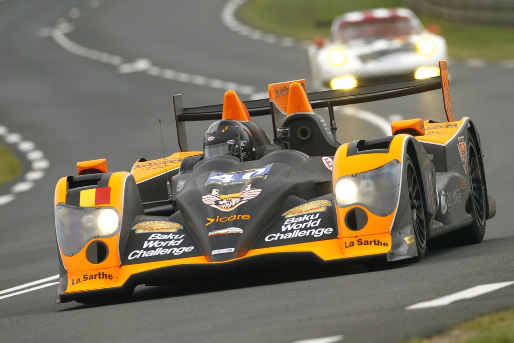 Boutsen Ginion team at Le Mans_2013