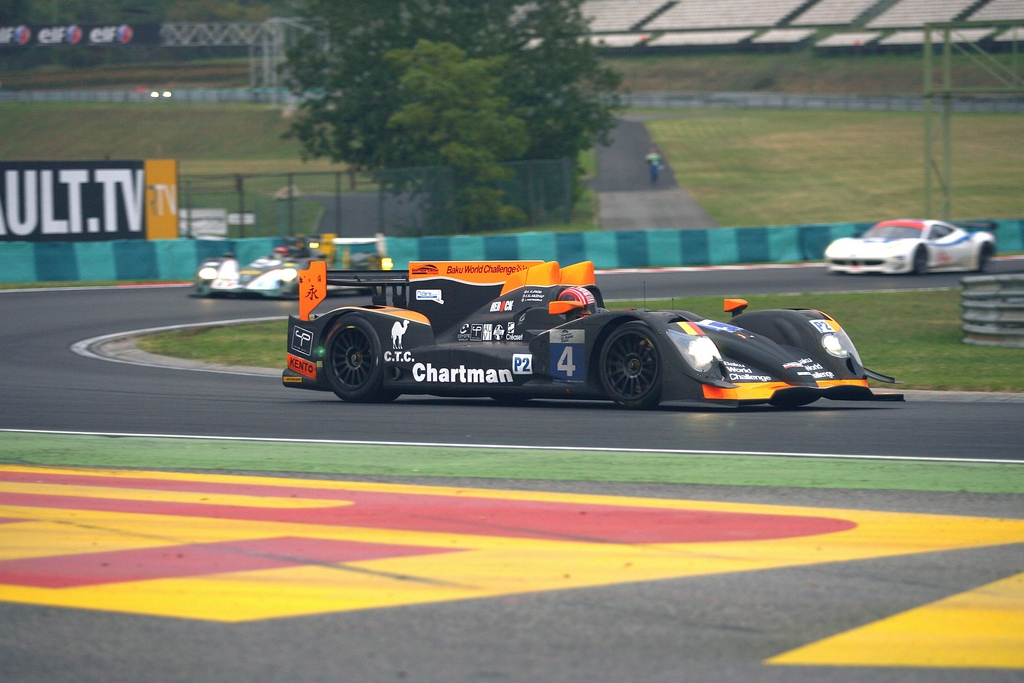 Khaled during the last 20mins of the race Hungaroring
