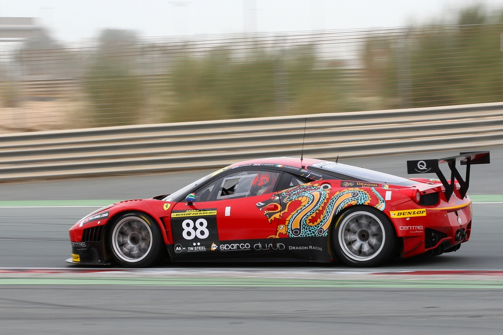 Dragon Racing during Dubai 24hr Jan 2013_Image Darren Rycroft