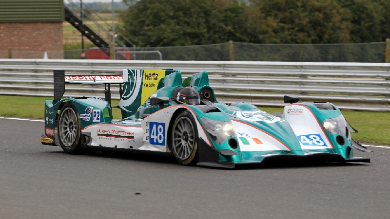 Khaled completes successful test with Murphy Prototypes in LMP2