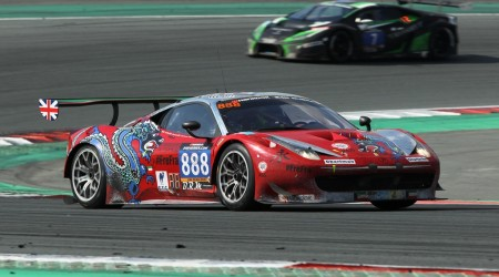 888DragonRacing Ferrari at 2016 Dubai 24hrs