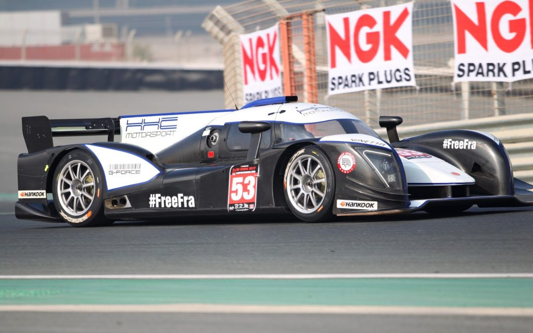 Podium finish in Prototype 3×3 Endurance race at Dubai Autodrome