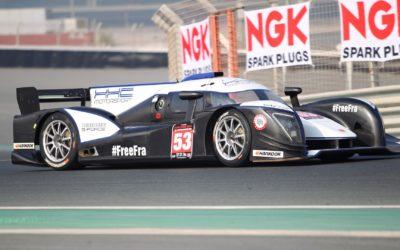 Podium finish in Prototype 3×3 Endurance race at Dubai Autodrome