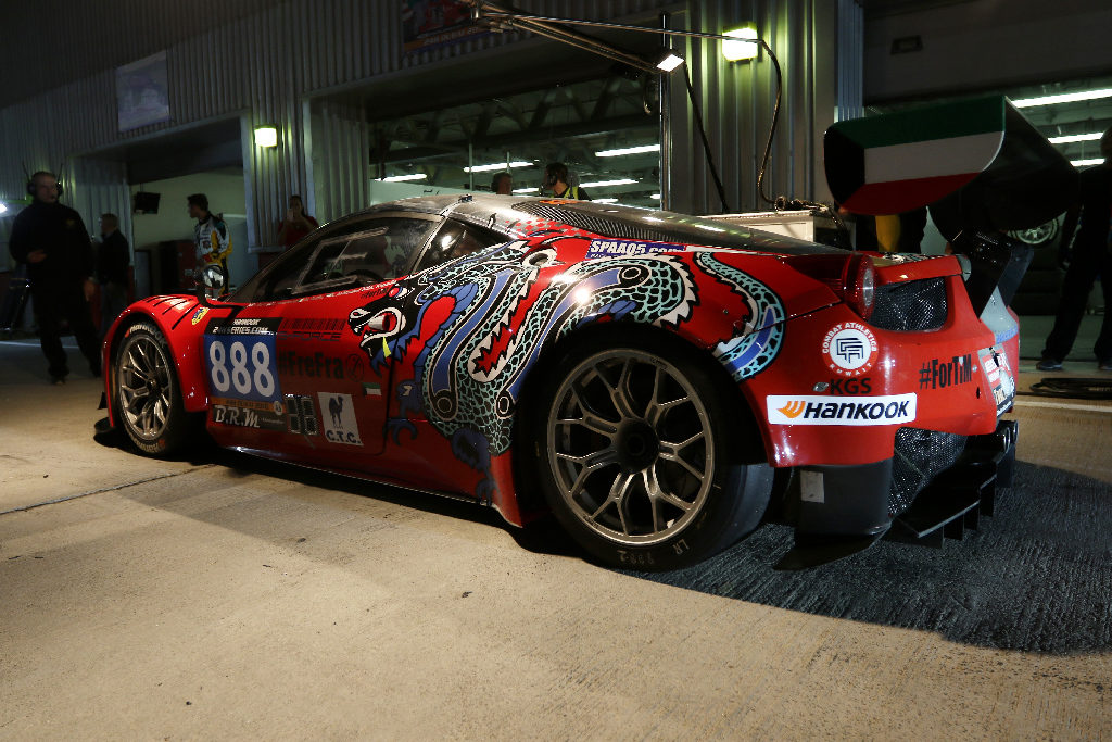 Dubai 24H 2016 Dragon Racing Ferrari458 GT3 72