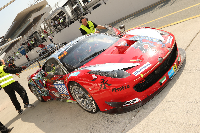 Dubai24hr2016Dragon Racing Ferrari 458 GT3 42