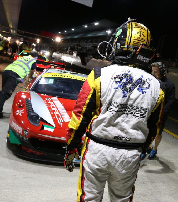 Dubai 24H GT3AM Class Winners 2014 -11
