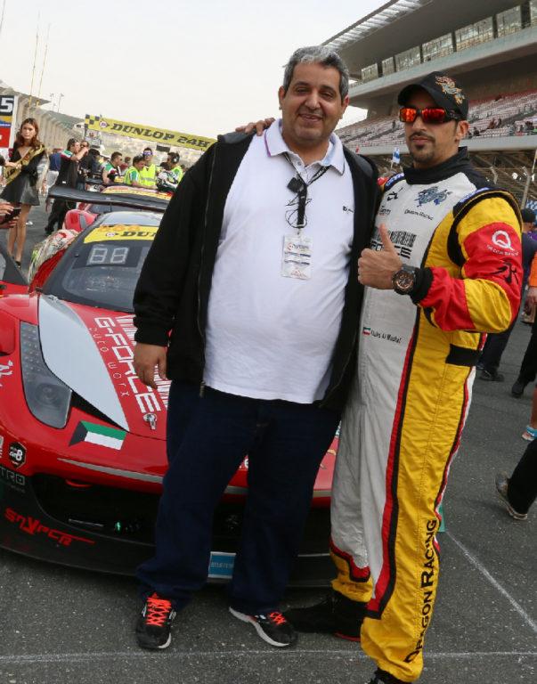 Dubai 24H GT3AM Class Winners 2014 -15
