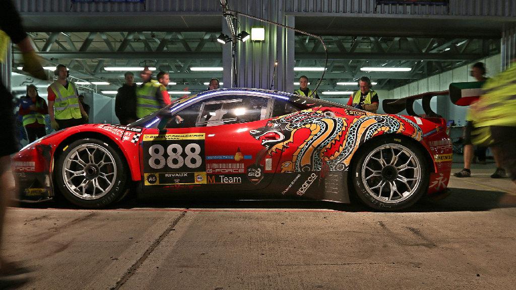 Dubai 24H GT3AM Class Winners 2014 -33