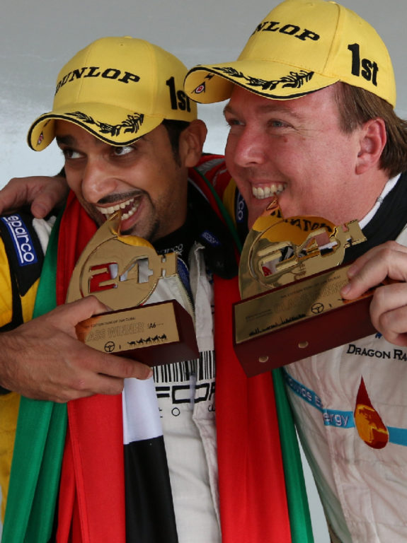 Dubai 24H GT3AM Class Winners 2014 -38
