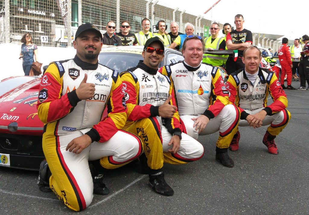 Dubai 24H GT3AM Class Winners 2014 -7