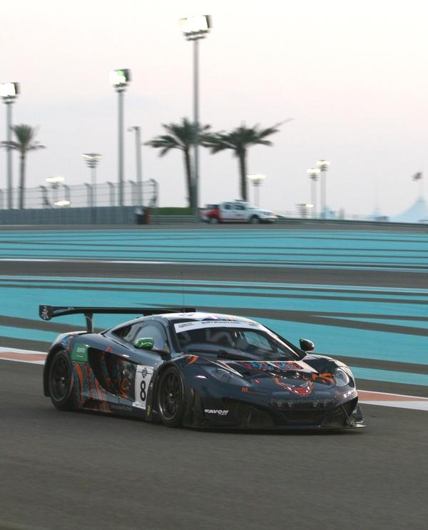 Gulf 12H McLaren GT3 2013-49