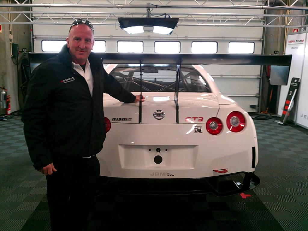 Nissan NISMO GT3 test Portimao 2012-10