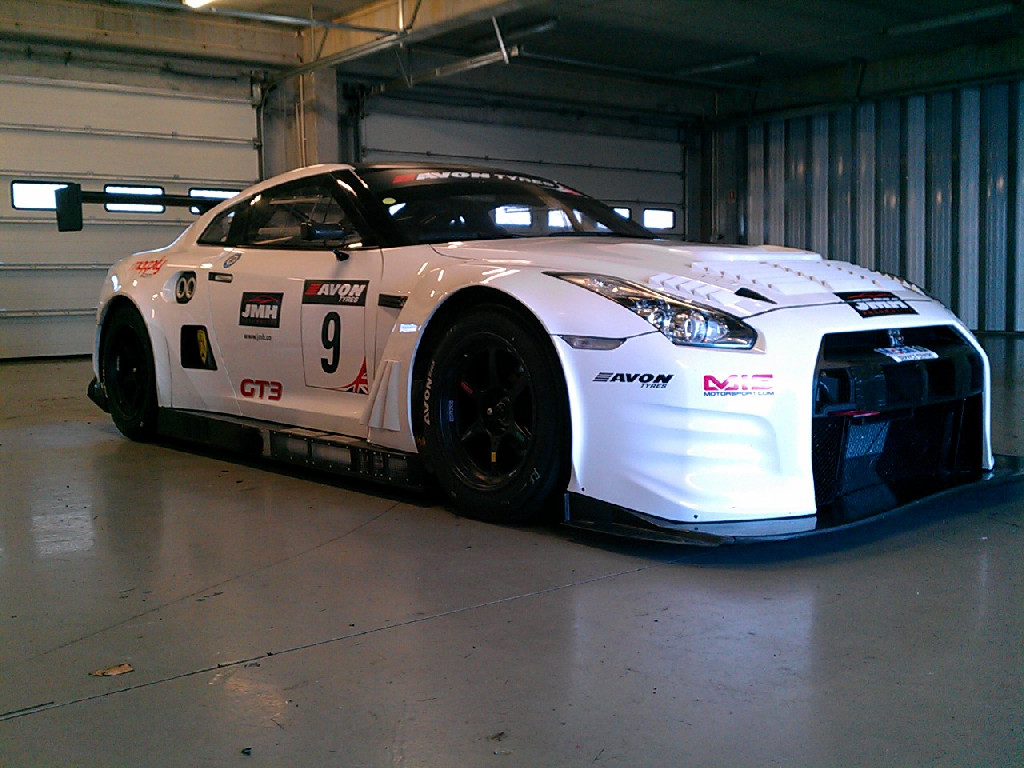 Nissan NISMO GT3 test Portimao 2012-13