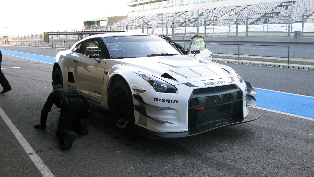 Nissan NISMO GT3 test Portimao 2012-30