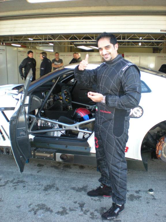 Nissan NISMO GT3 test Portimao 2012-5