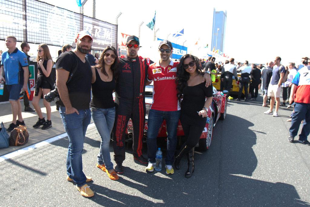 Dubai 24H 2016 Dragon Racing Ferrari458 GT3 13