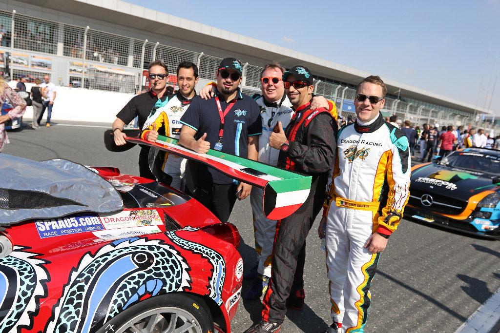 Dubai 24H 2016 Dragon Racing Ferrari458 GT3 22