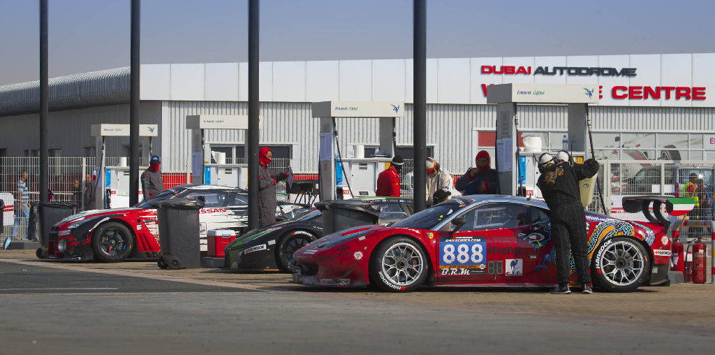 Dubai 24H 2016 Dragon Racing Ferrari458 GT3 26