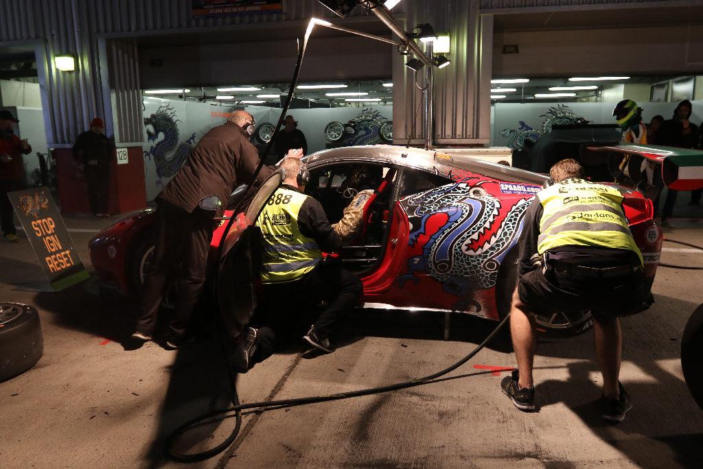 Dubai 24H 2016 Dragon Racing Ferrari458 GT3 46