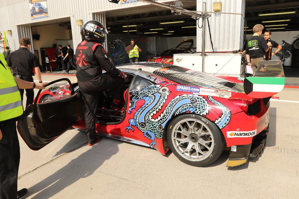 Dubai 24H 2016 Dragon Racing Ferrari458 GT3 69