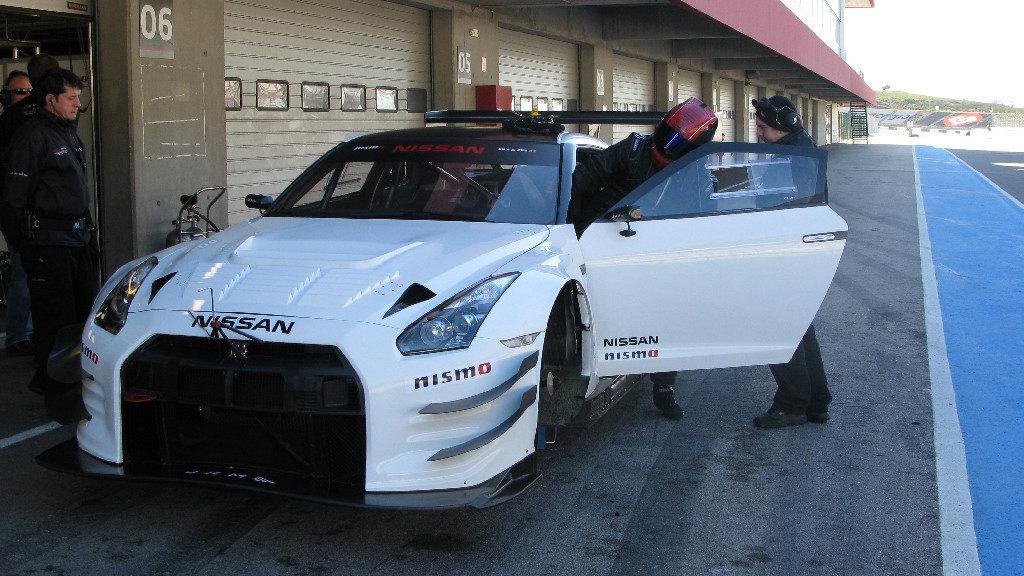 Nissan NISMO GT3 test Portimao 2012-19
